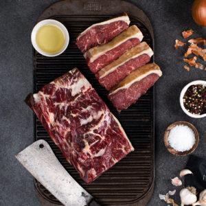 Cabernet Foods dry-aged sirloin steak