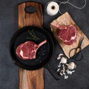 Cabernet Foods dry-aged beef cutlet
